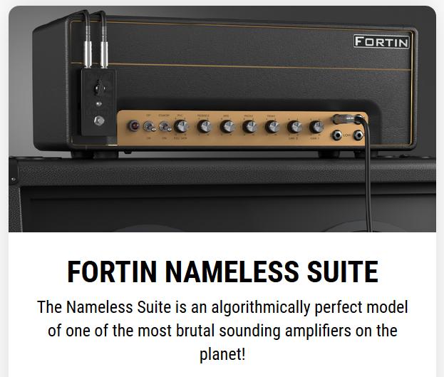 Fortin Nameless от Neural DSP   Rmmedia ru